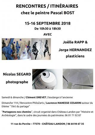 Affiche rencontres porche chateau landon jep 2018